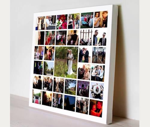 photo collage prints canvas print