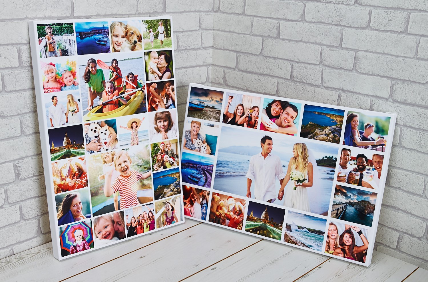 canvas photo collages a great gift idea canvas print co