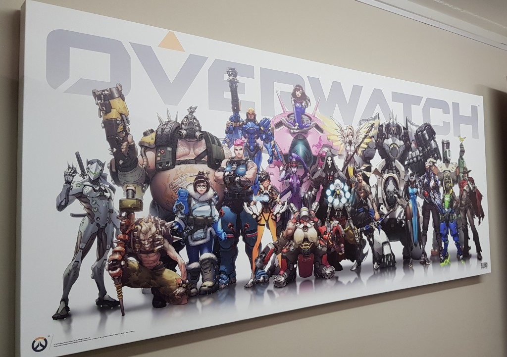 Overwatch Game Print (Aug2017) by Canvas Print Co