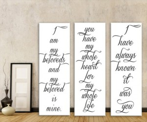 wedding-canvas-ideas-first-song-lyrics